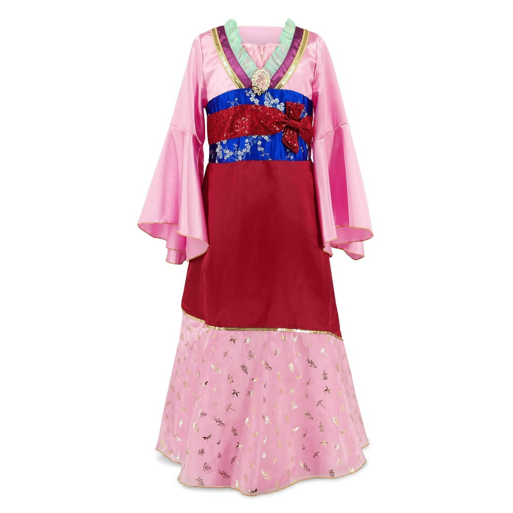 Disney Mulan Costume - 7/8 - Disney store, Women's, Size: 7-8, Red/Grey