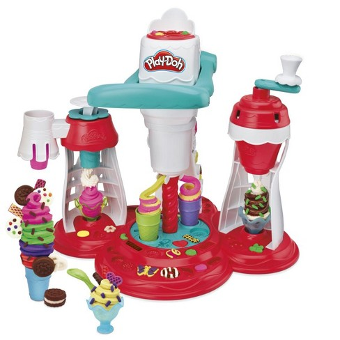 Play Doh Kitchen Creations Ultimate Swirl Ice Cream Maker Target