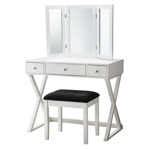 Swell X Base Vanity Set Linon Beutiful Home Inspiration Aditmahrainfo