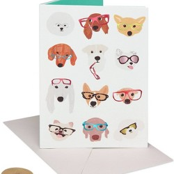 Dogs with Glasses Card - Papyrus