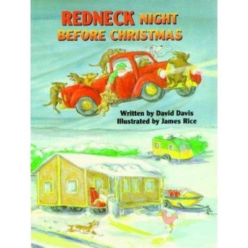 Redneck Night Before Christmas - by  David Davis (Hardcover) - image 1 of 1