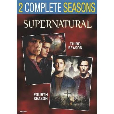 Supernatural: Seasons 3 & 4 (DVD)