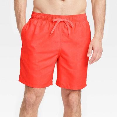 "Men's 7"" Swim Trunks - Goodfellow & Co™ Orange"