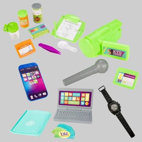 16pc Science & Business Dress Up Accessories & 2pk Watch/Phone - Toysmith - image 1 of 6