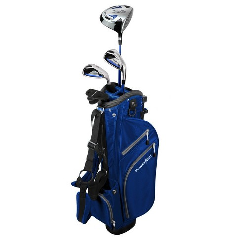 Powerbilt Pro Power Junior Girls' Right Hand 4-Club Set - Blue (Ages 5-8) - image 1 of 3