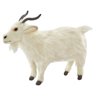 Hansa Turkish Goat Plush Toy-White