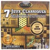 The Canadian Group Classic Games Wood 7 Classic Games Set | 3 Boards & 150 Game Pieces - image 2 of 3