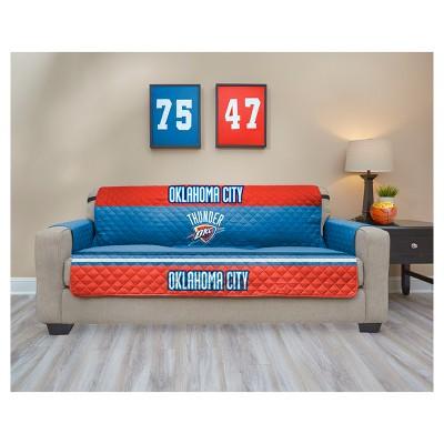 NBA Oklahoma City Thunder Pegasus Sports Sofa Protector : Target