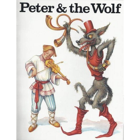 Peter & the Wolf Color Bk - by  David Brownell (Paperback) - image 1 of 1