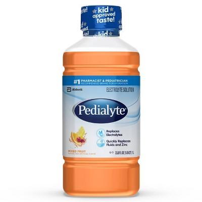 Pedialyte Electrolyte Solution - Mixed Fruit - 33.8 fl oz
