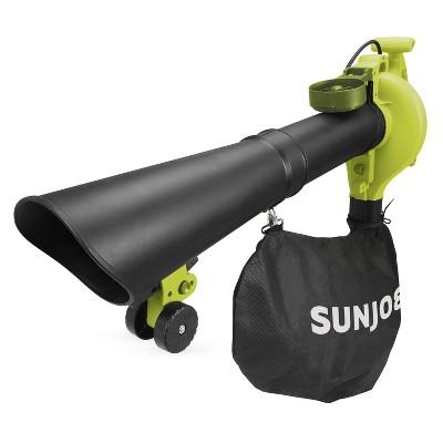 Sun Joe SBJ606E-GA-SJG 4-in-1 Electric Blower | 250 MPH | 14 Amp | Vacuum | Mulcher | Gutter Cleaner.