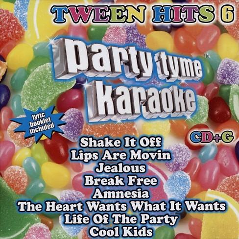 Party Tyme Karaoke: Tween Hits, Vol. 6 (CD) - image 1 of 1