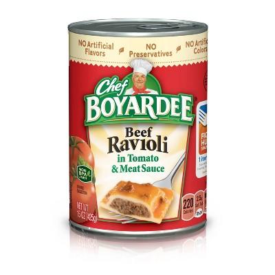 Chef Boyardee Beef Ravioli - 15oz