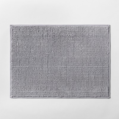 "17""x24"" Solid Bath Rug Gray - Made By Design™"