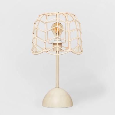 Rattan Table Lamp Natural - Pillowfort™