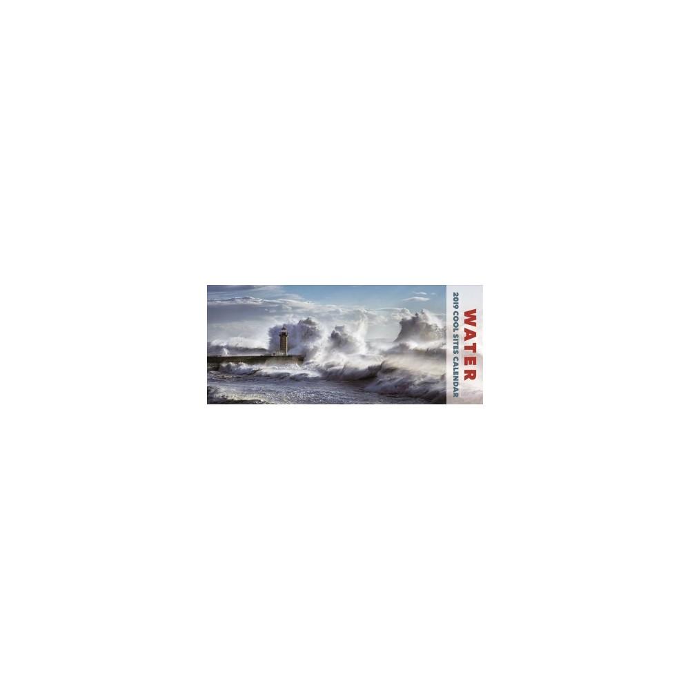Water Panoramic 2019 Calendar - (Paperback)