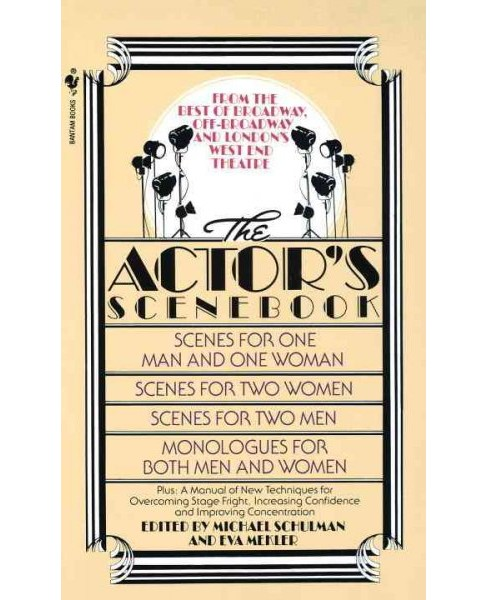 Actor's Scenebook : Scenes and Monologues from Contemporary Plays -  Reissue (Paperback) - image 1 of 1