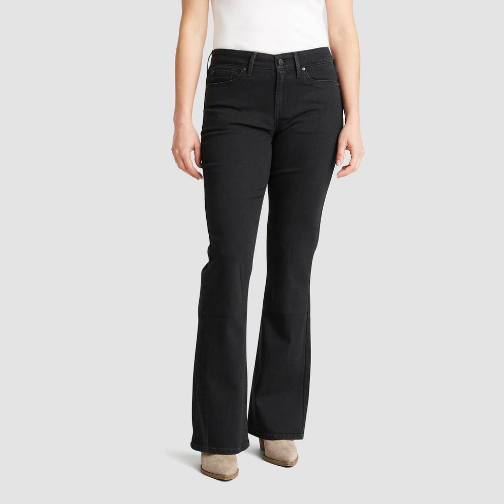 Denizen 174 From Levi 39 S 174 Women 39 S Mid Rise Bootcut Jeans Black 18 Short