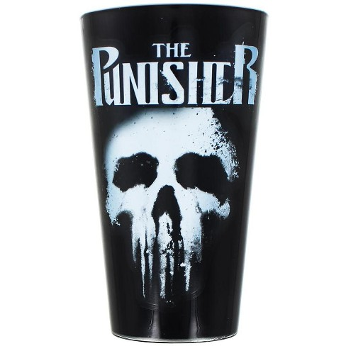 Surreal Entertainment Marvel's The Punisher 16oz Pint Glass - image 1 of 2