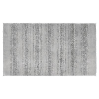 "30""x50"" Essence Nylon Washable Bath Rug Platinum Gray - Garland"