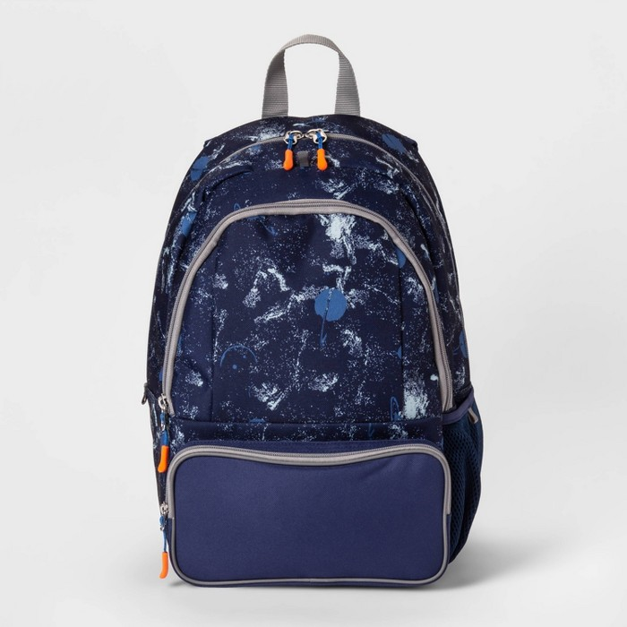 """17"""" Galaxy Kids' Backpack Navy - Cat & Jack™ - image 1 of 3"""