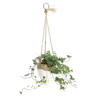 Jute Hanging Planter (8.5 )- 3R Studios