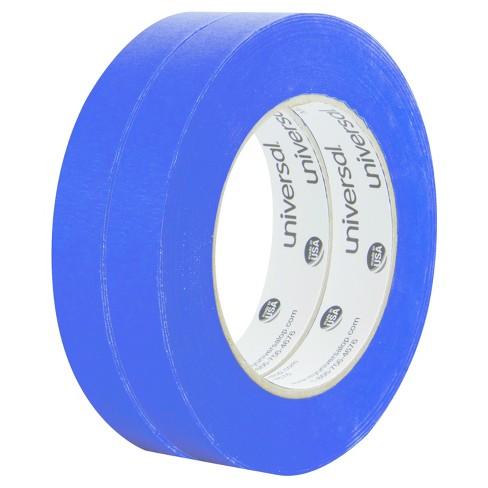 Universal Premium Blue Masking Tape with Bloc-it Technology, 18mm x 54.8m, Blue, 2pk - image 1 of 1