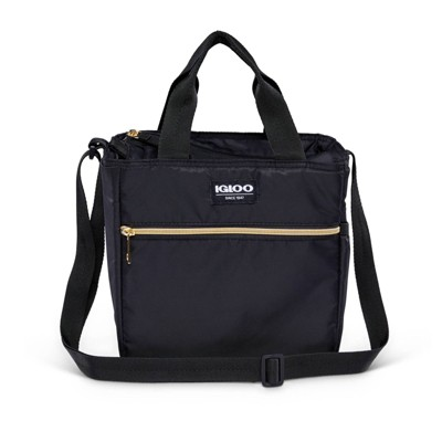 Igloo Sport Luxe Mini City Lunch Sack - Black/Gold