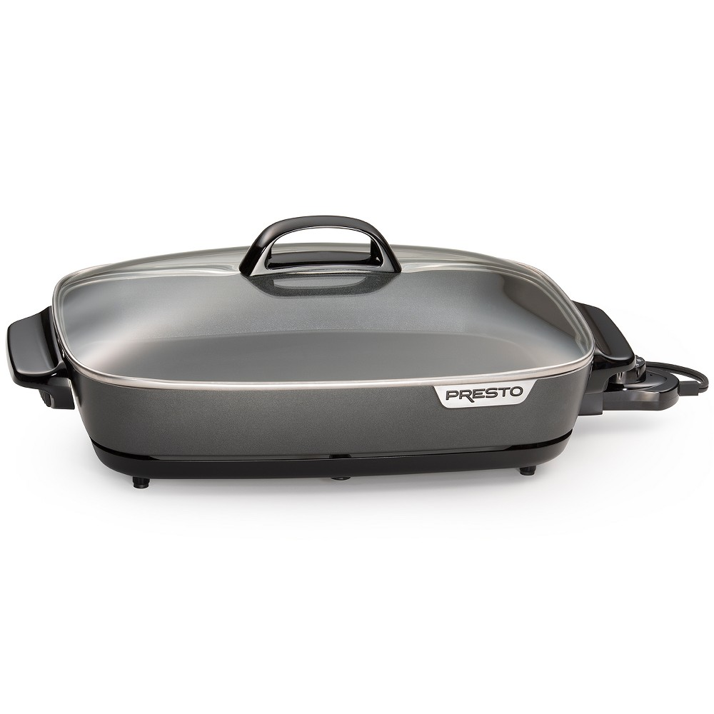 Presto 16 Slimline Electric Skillet – Black 54218183