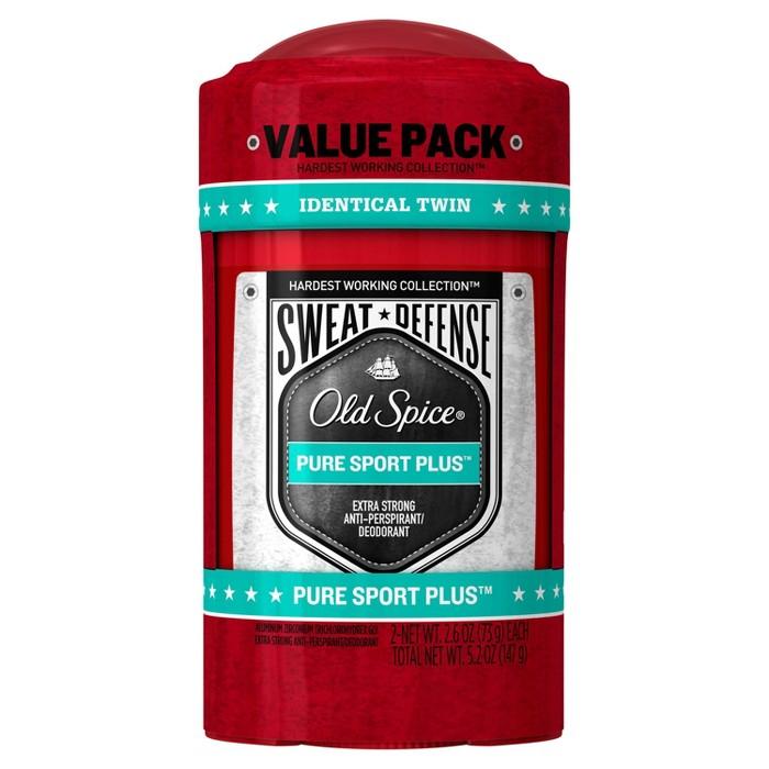 Old Spice Hardest Working Collection Antiperspirant & Deodorant For Men Pure Sport Plus : Target
