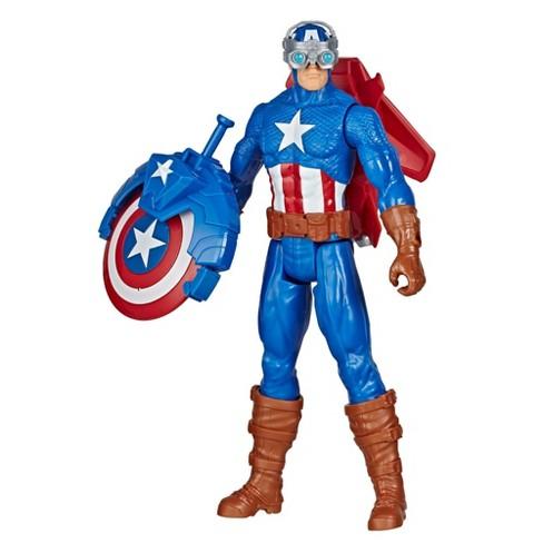 Marvel Avengers Titan Hero Series Blast Gear Captain America - image 1 of 4