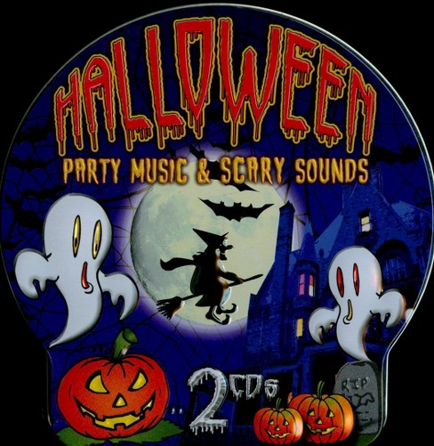United studio party - Halloween party music & scary sounds (CD) - image 1 of 1