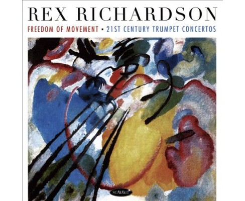 Rex Richardson - Freedom Of Movement:21st Century Trum (CD) - image 1 of 1