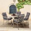 DriWeave Phyllis Ikat High Back Outdoor Chair Cushion - Arden - image 2 of 2