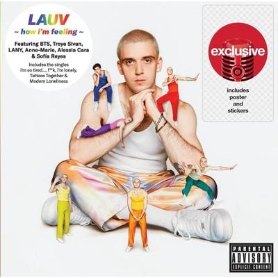 Lauv - How I'm Feeling [Explicit Lyrics] (Target Exclusive, CD)