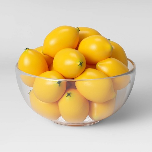 10pc Decorative Lemon Filler Yellow - Threshold™ - image 1 of 3