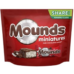 Mounds Miniature Chocolates - 10.3oz
