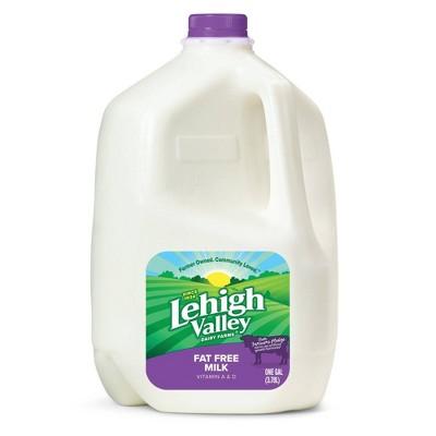 Lehigh Valley Skim Milk - 1gal