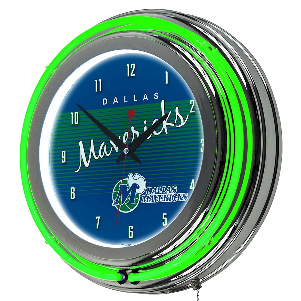 Dallas Mavericks Team Logo Wall Clock