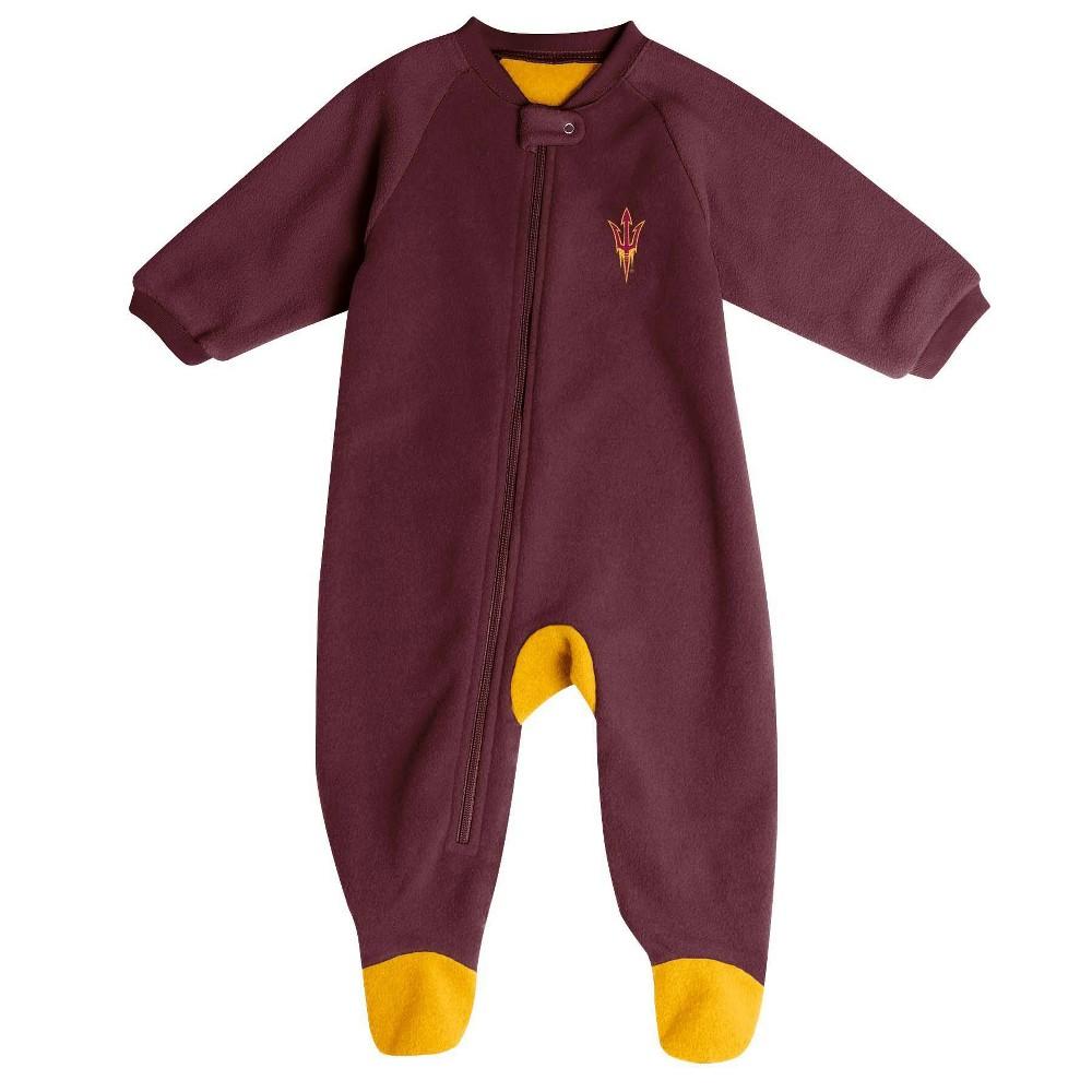 Ncaa Arizona State Sun Devils Baby Boys 39 Blanket Sleeper 3 6m