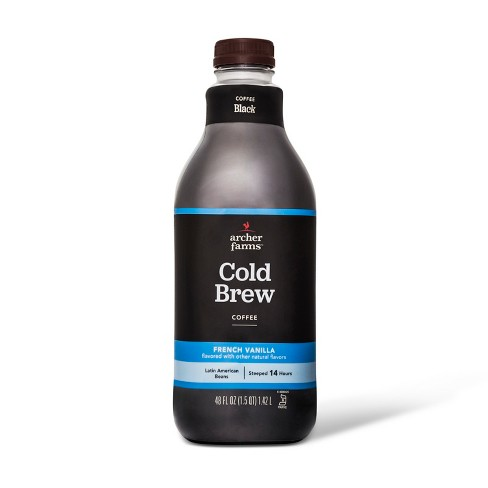 French Vanilla Cold Brew Coffee - 48 fl oz - Archer Farms™ - image 1 of 1