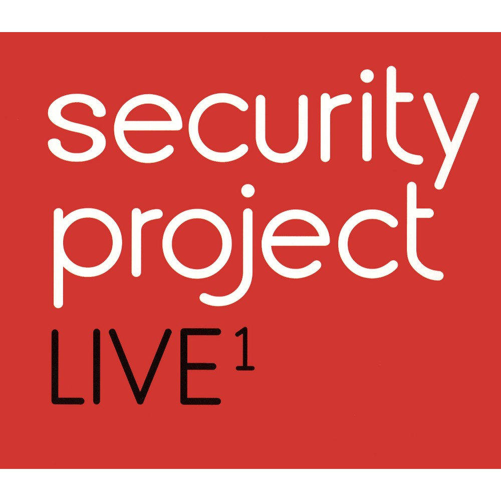 Security Project - Live 1:Security Project (CD)