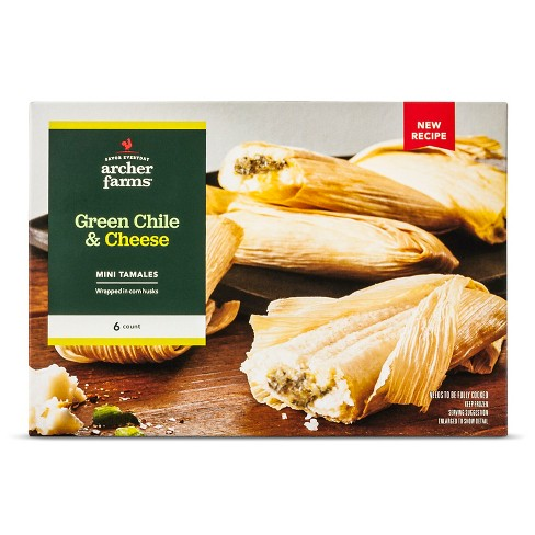Green Chili & Cheese Tamales 14oz - Archer Farms™ - image 1 of 1