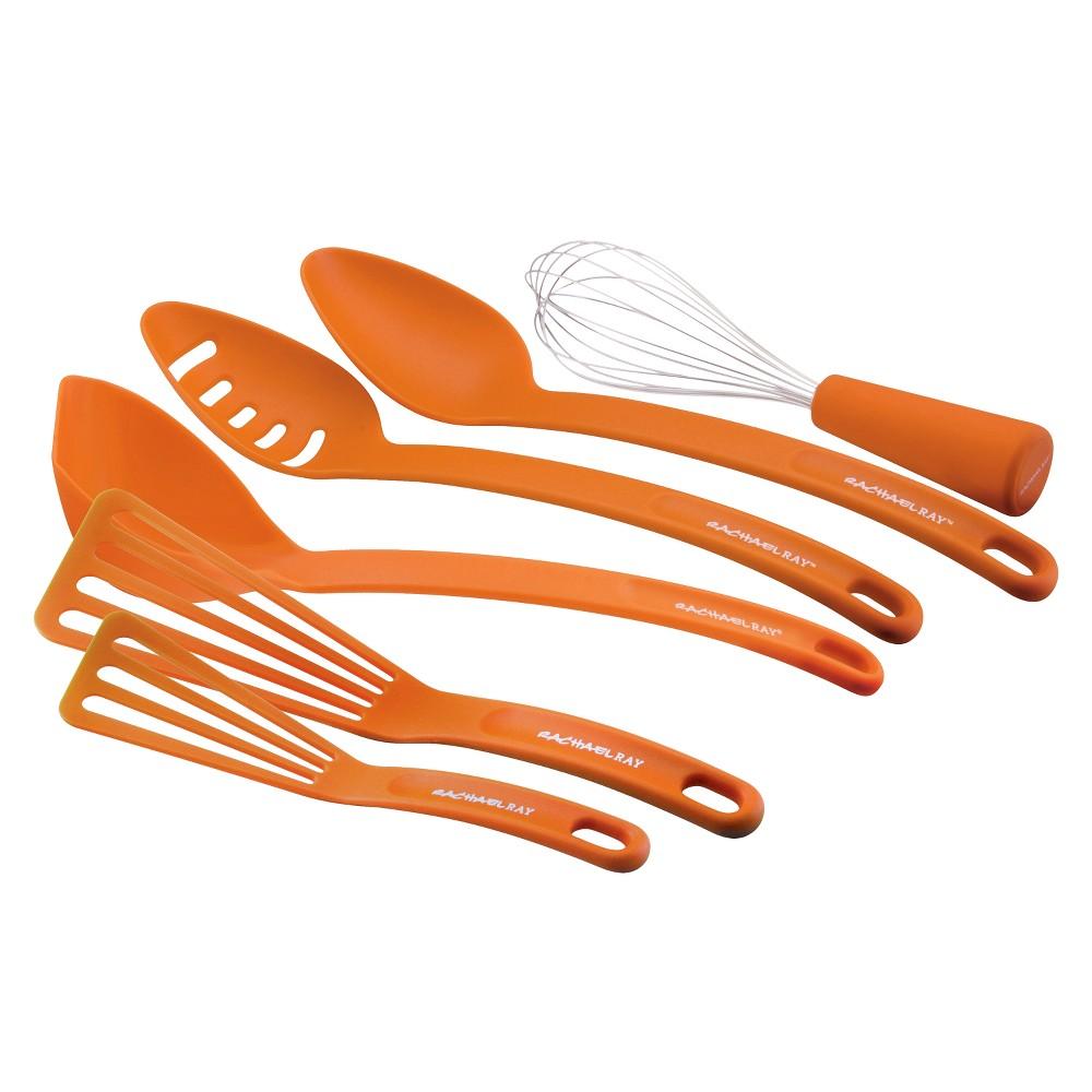 Rachael Ray Nylon Tool Set - Orange (6 Pc)