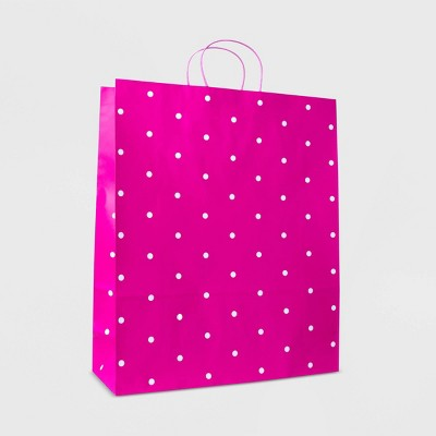XLarge Dotted Bag White/Pink - Spritz™