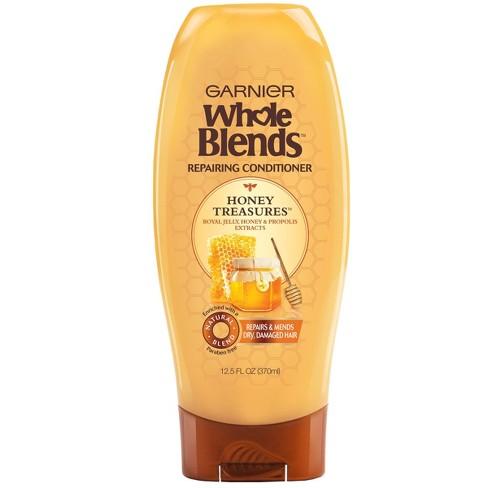 Garnier Whole Blends Honey Treasures Repairing Conditioner - 12.5 fl oz - image 1 of 4