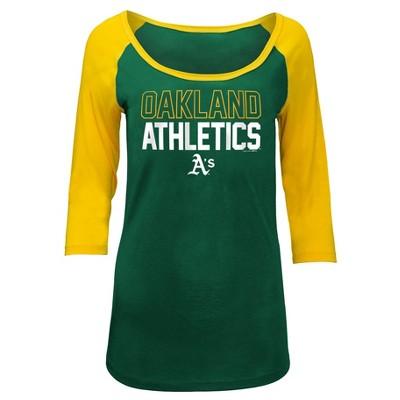 MLB Oakland Athletics Women's Play Ball Fashion Jersey