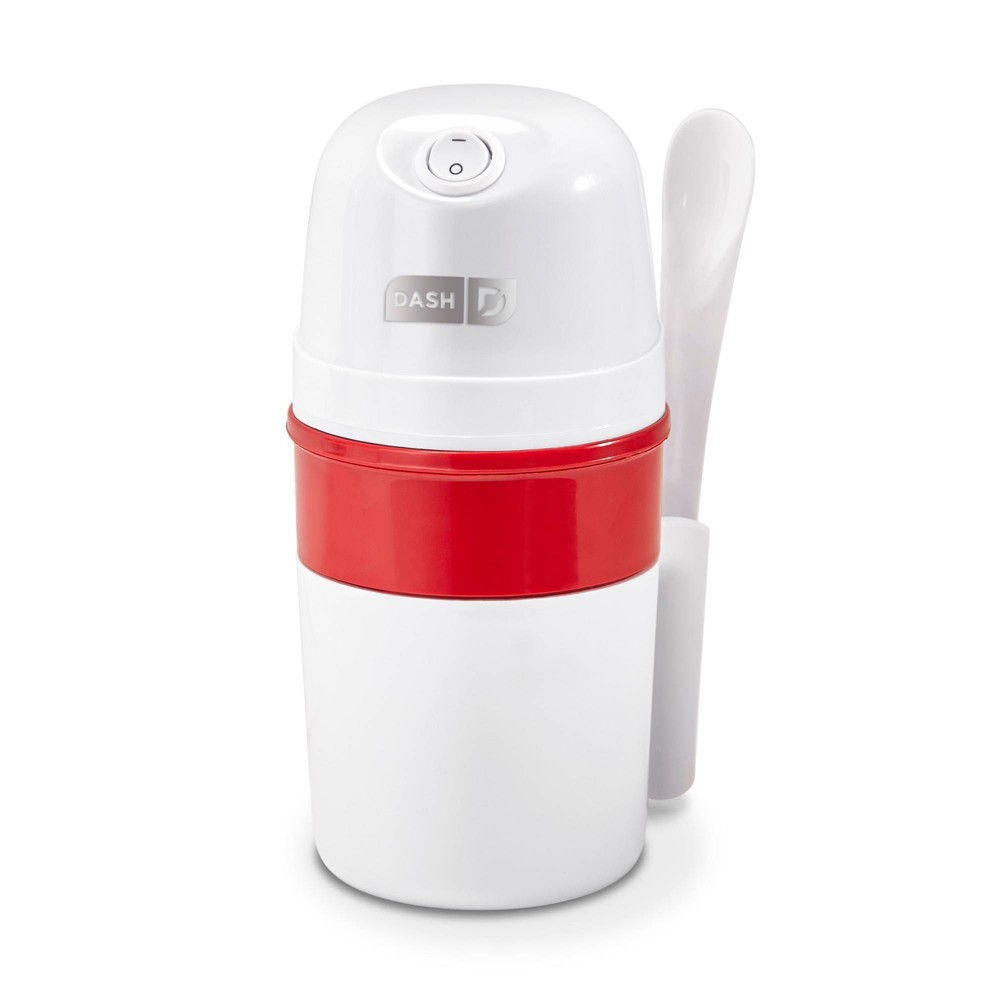 Image of Dash My Pink Ice Cream Maker - Red, White Red