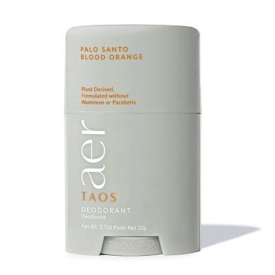 Taos AER Next Level Deodorant Palo Santo Blood Orange - 0.7oz