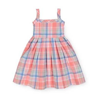 Hope & Henry Girls' Sleeveless Fit and Flare Summer Dress, Kids